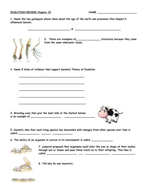 Darwin S Finches Worksheet