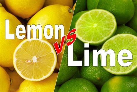 which is better lemon or lime lemon vs lime difference and comparison