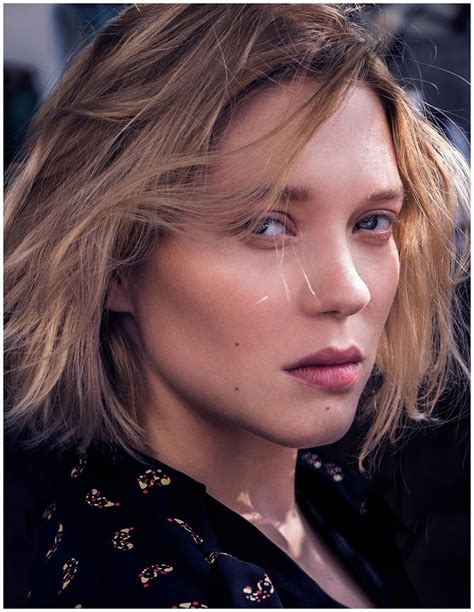 Makeup House Of Lea lea seydoux in madame figaro nov 4th 2016 by lucien bor