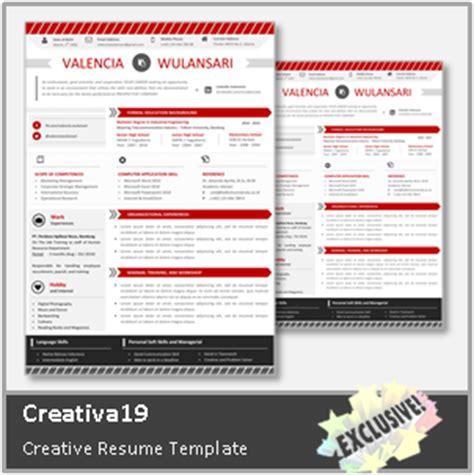 desain cv kreatif contoh cv lamaran kerja