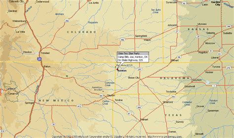 texas panhandle road map panhandle texas map images