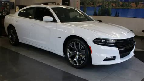 new 2016 dodge charger bright white