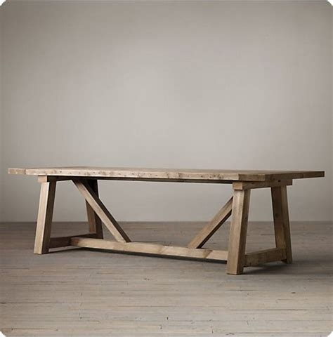 reclaimed wood outdoor dining table 25 best ideas about dining tables on