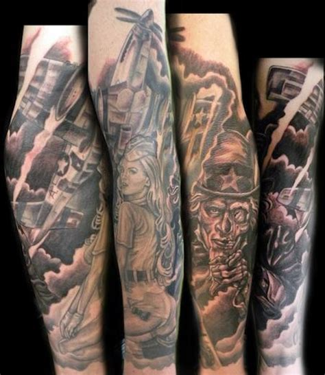 20 inspiring military tattoos tattoo com