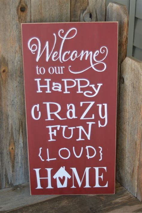 5 Amazing Ways To Welcome 2010 by Welcome To Our Happy Loud Home Wooden Welcome