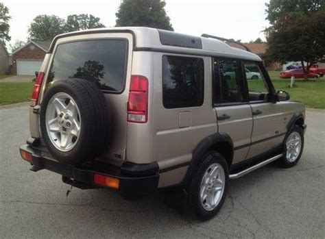 sell used 2001 land rover discovery series ii se in louisville kentucky united states