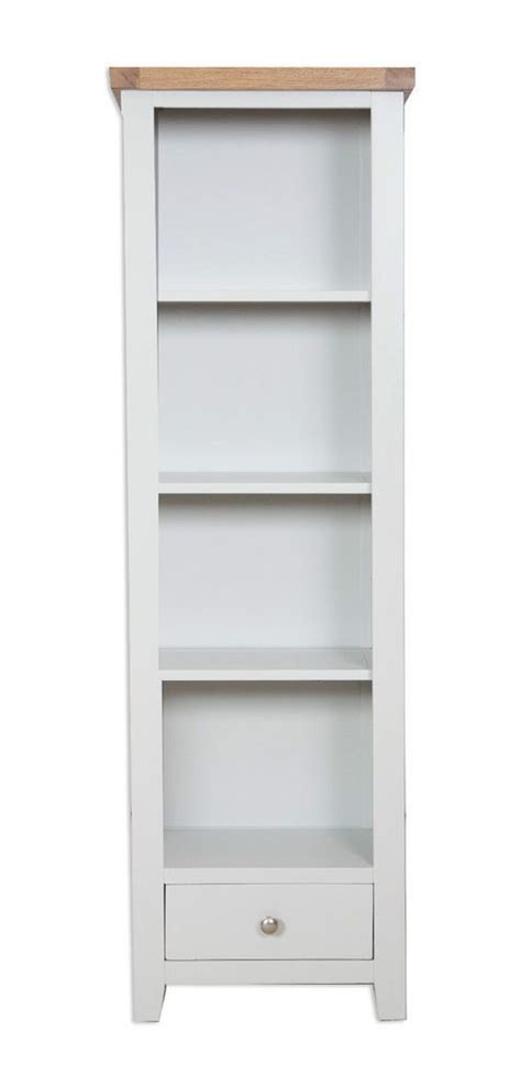 thin white bookcase 1000 ideas about narrow bookcase on