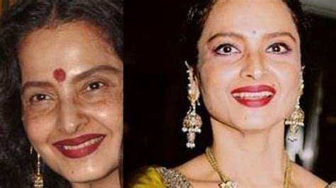 actress rekha without makeup pic rekha without makeup youtube