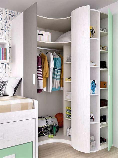 dormitorio juvenil moderno compacto cama nido  cajones