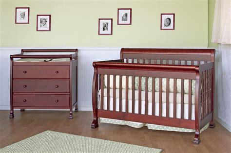 Mdb Crib by Da Vinci Kalani Convertible Crib In Cherry Mdb M5501c At Homelement