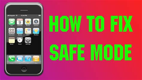 how to get out of safe mode on android how to get out of safe mode