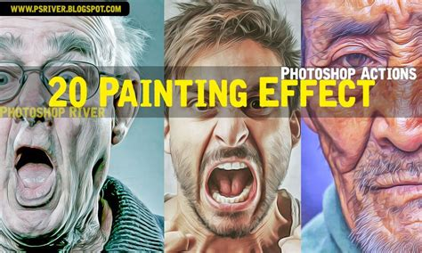 tutorial smudge painting photoshop cs5 20 hdr oil painting effect photoshop actions free