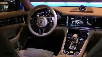 Porsche Panamera Interior Porsche Panamera 2017 Interior