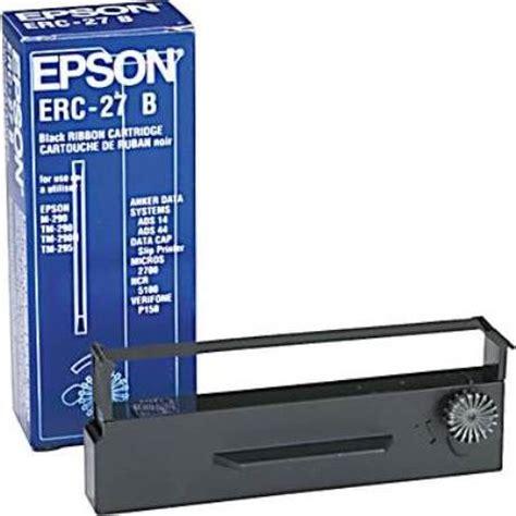 Ncr 290 Ribbon Cartridge Purple Black epson erc 27b black ribbon cartridge 6 pack for use with