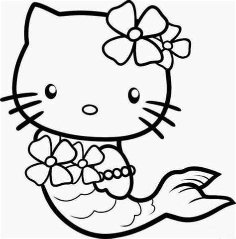 cute coloring pages hello kitty 20 free printable hello kitty coloring pages fit to print