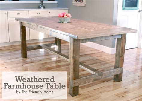 weathered kitchen table redirecting