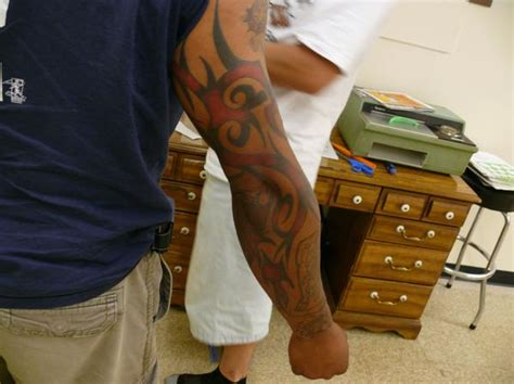 red tribal tattoo tribal tattoos