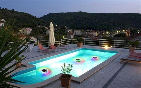 pool solar lights floating solar floating led pool light with rgb leds 100