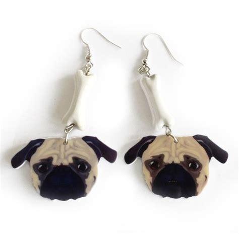 pug earings pug earrings pug