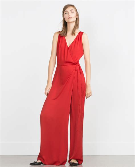 Zara Overall by Zara Crossover Jumpsuit In Lyst