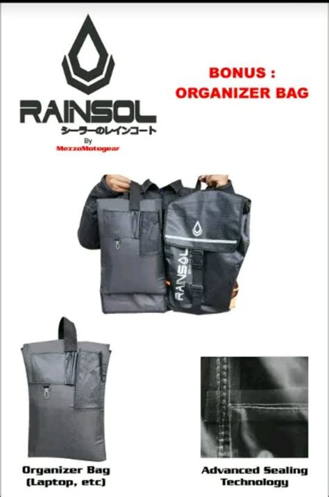 Tas Motor Anti Air jual beli tas anti air waterproof bagpack rainzol