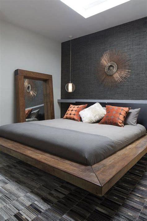 Cool Platform Bed 35 Masculine Bedroom Furniture Ideas That Inspire Digsdigs