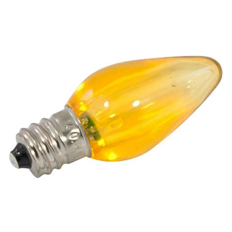 yellow led light bulbs yellow led c7 linear light strand bulbs