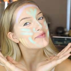 Another weird instagram makeup trend but this one might actually be