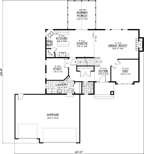 house plans prairie house and home design
