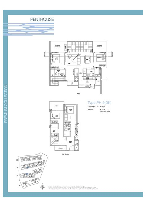 the nautical floor plan penthouse 4 bed dk the nautical