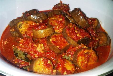 Singkong Balado Pedas resep dan cara membuat sambal terong balado pedas gurih sajian nusantara