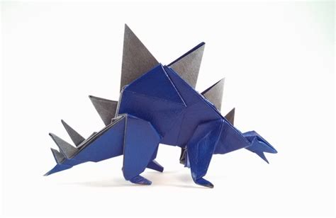 Origami Stegosaurus - origami stegosaurus gilad s origami page