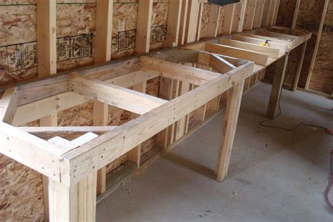 building work bench woodwork building workbench on wall pdf plans