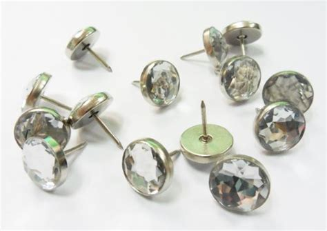 crystal upholstery decotacks crystal upholstery nails furniture tacks 7 16
