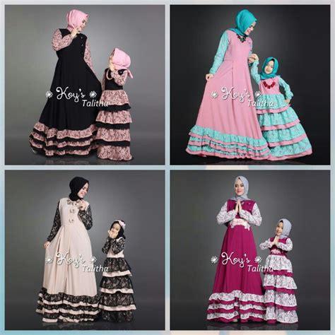 Baju Muslim Keluarga Branded Jual Baju Busana Muslim Talitha And Koys