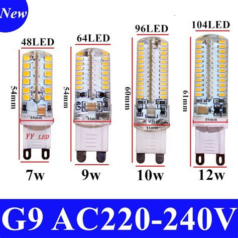 Cree Led Light Bulbs Sale 2017 Cree Sale Led L G9 Corn Bulb Ac 220v 7w 9w 12wsmd 2835 3014 Led Light 360 Degrees