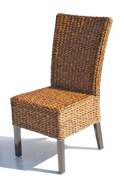 Whicker Dining Chairs Best Rattan Cabo Seagrass Dining Chair Rattan Dining Chairs