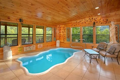 Dollywood Cabins With Pools by 5 Smoky Mountain Cabin Near Dollywood Pool