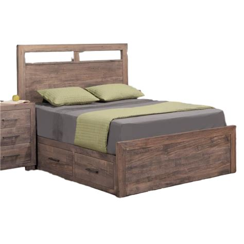 beds with storage drawers canada steel city storage bed home envy furnishings solid wood