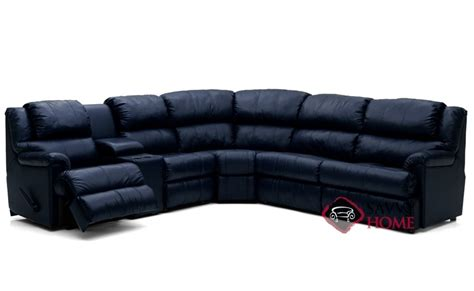 Large Reclining Sectional by Harlow By Palliser Leather True Sectional By Palliser Is