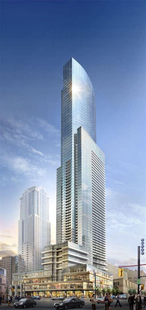 toronto tower tallest residential skyscraper  canada