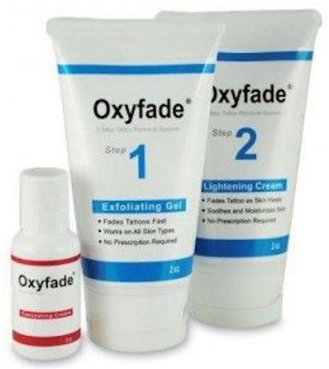 cream to remove tattoo best removal oxyfade models