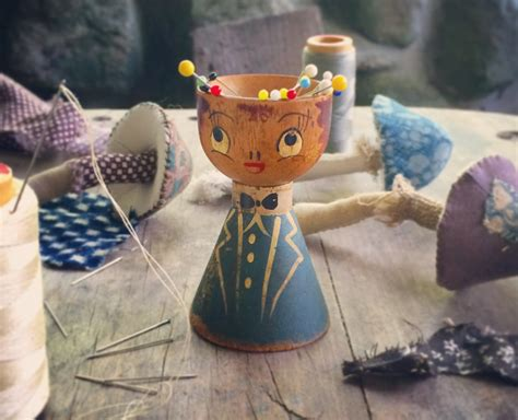 pixie toadstools and mr cups ann wood handmade