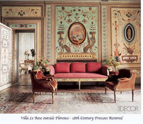 18th century home decor the history magic of murals jaima company