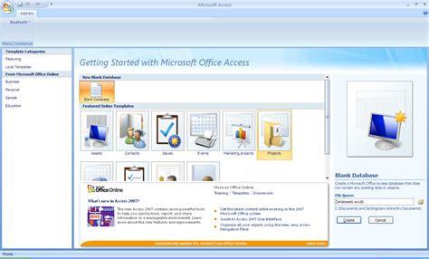 membuat query dengan query design membuat query di microsoft access 2010 3 klik menu create