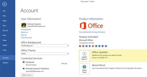 How To Update Microsoft Office by How To Update Microsoft Office 2016 2013 Manually
