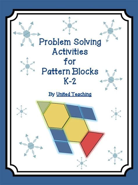Pattern Solving Questions | problem solving activities with pattern blocks 171 united