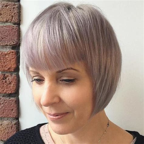platnum hairstyles for over 40 2015 short layered bob for women over 60 with platinum
