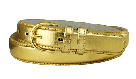 188 gold s dress belt 1 1 8 quot wide