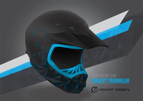 design my helmet industrial design study motocross helmet design kreatif